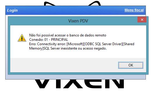 Procedimento para utilizar o sistema Vixen em modo off-line.