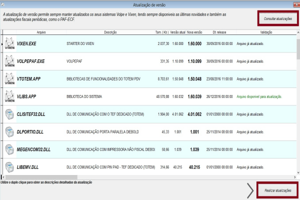 Utilizando novo layout XML 0.07 do cf-e(sat)